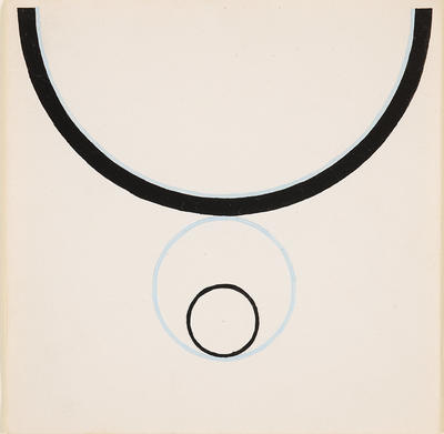 Artist: Jo Baer, American, born 1929
