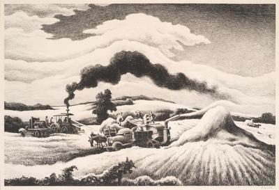 Artist: Thomas Hart Benton, American, 1889-1975