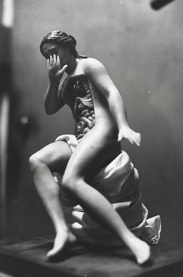 Seated Anatomical Model; Zoe Leonard; American, born 1961; 2017.135