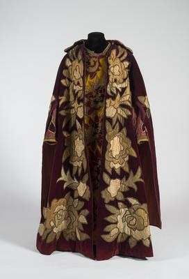 Costume for King Dodon in Le Coq d'Or (The Golden Cockerel)
