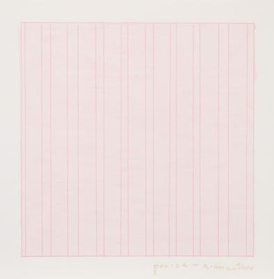 Artist: Agnes Martin, American, born Canada, 1912-2004