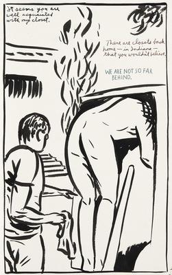 Artist: Raymond Pettibon, American, born 1957