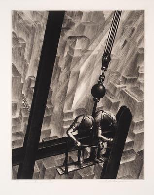Men of Steel; Samuel Margolies; American, 1897-1978; 2017.10