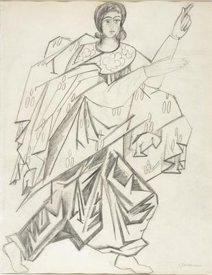 Costume design for Archangel Gabriel in Liturgie
