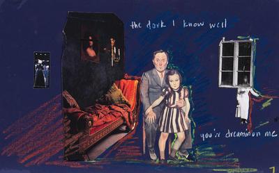 "Storyboard for ""The dark I know well"" in Spring Awakening; Christine Jones; American, born Canada, 1966; 2017.42.3"