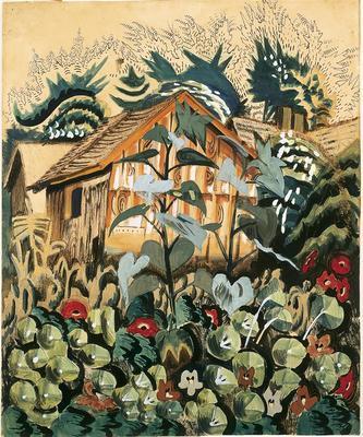 Artist: Charles Burchfield, American, 1893-1967