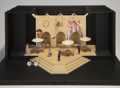 Maquette for The Taming of the Shrew; Tony Straiges; American, born 1942; 2017.241