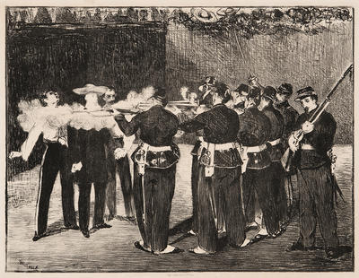 The Execution of Maximilian; Édouard Manet; French, 1832-1883; 2018.9