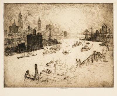 Artist: Joseph Pennell, American, 1860-1926