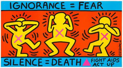 Artist: Keith Haring, American, 1958-1990
