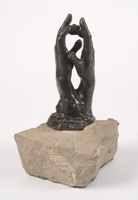 Study for The Secret; Auguste Rodin; French, 1840-1917; 1975.72