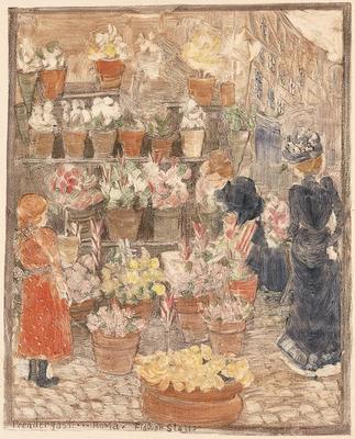 Artist: Maurice Prendergast, American, born Canada, 1859-1924