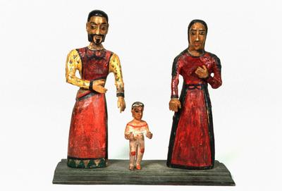 La Sagrada Familia (Holy Family); José Benito Ortega; New Mexican, 1858-1941; 1950.254