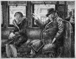 Artist: Reginald Marsh, American, born France, 1898-1954