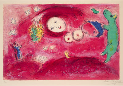 Artist: Marc Chagall, French, born Russia (now Belarus), 1887-1985