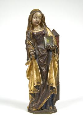 Saint Barbara with Tower