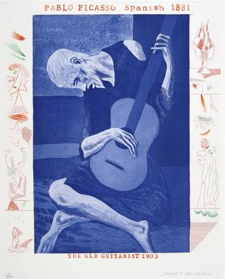 Artist: David Hockney, British, born 1937