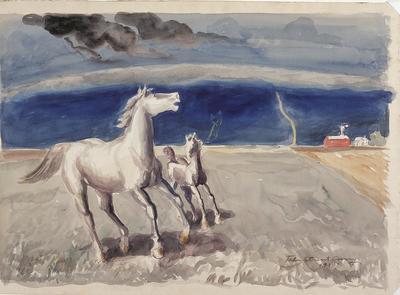 Artist: John Steuart Curry, American, 1897-1946
