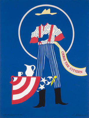Costume design for Chris the Citizen in The Mother of Us All