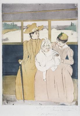 Artist: Mary Cassatt, American, 1844-1926