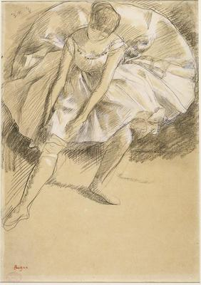 Artist: Edgar Degas, French, 1834-1917