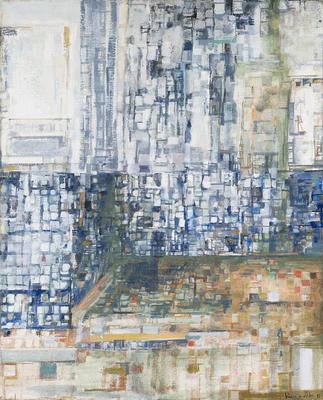 Artist: Marie Elena Vieira da Silva, French, born Portugal, 1908-1992