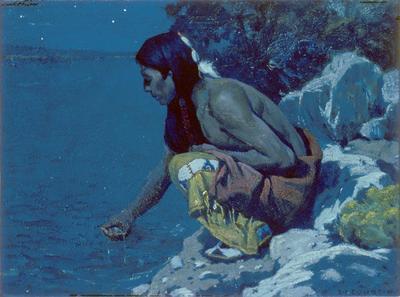 Artist: E. Irving Couse, American, 1866-1936