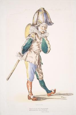 La Polichinelle; Édouard Manet; French, 1832-1883; 1981.43