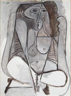 Femme Accroupie (Crouching Woman); Pablo Picasso; Spanish, 1881-1973; 1981.50