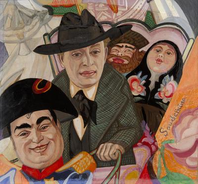 Artist: Serge Soudeikine, Russian, 1882-1946