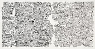Artist: Oyvind Fahlstrom, Swedish, born Brazil, 1928-1976