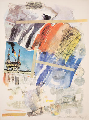 Artist: Robert Rauschenberg, American, 1925-2008