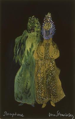 Costume designs for Persephone