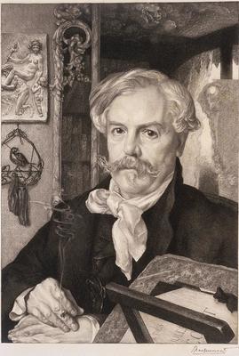 Artist: Felix Bracquemond, French, 1833-1914