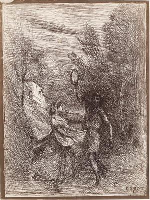Artist: Jean-Baptiste-Camille Corot, French, 1796-1875