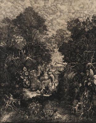 Artist: Rodolphe Bresdin, French, 1822-1885
