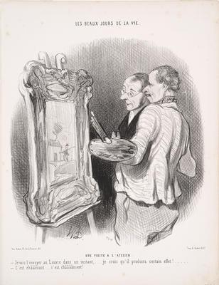 Artist: Honoré Daumier, French, 1808-1879