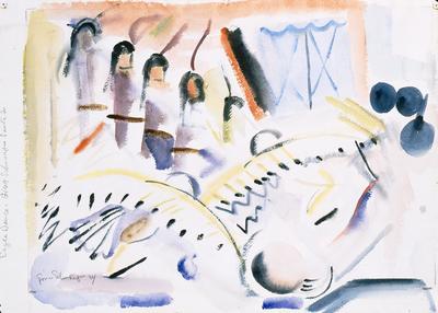 Artist: Gina Schnaufer Knee, American, 1898-1982