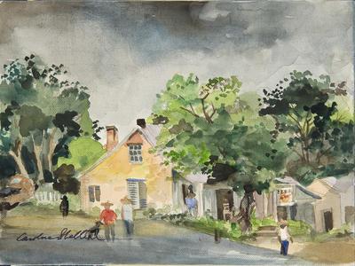 Artist: Caroline Shelton, American, 1908-1993