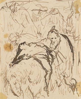 Artist: Théodule Augustin Ribot, French, 1823-1891