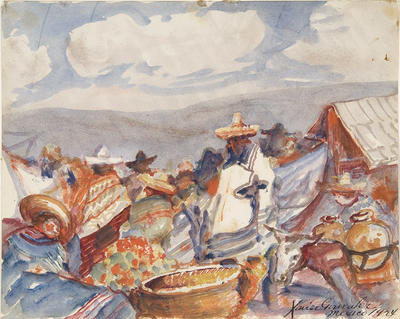 Artist: Xavier Gonzalez, American, born Spain, 1898-1993