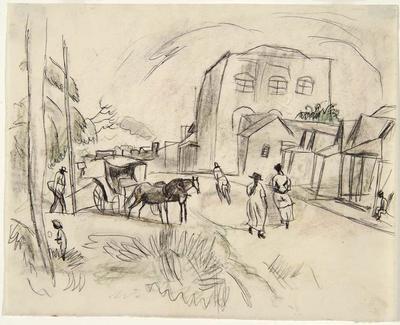 Artist: Jules Pascin, American, born Bulgaria, 1885-1930