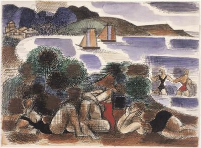Artist: Marcel Gromaire, French, 1892-1971