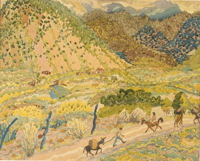 Canyon; Emil Armin; American, born Romania, 1883-1971; 1950.6