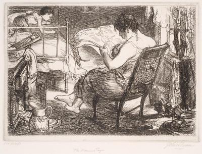The Women's Page; John Sloan; American, 1871-1951; 1987.157