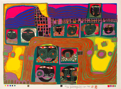 Artist: Friedensreich Hundertwasser, Austrian, 1928-2000