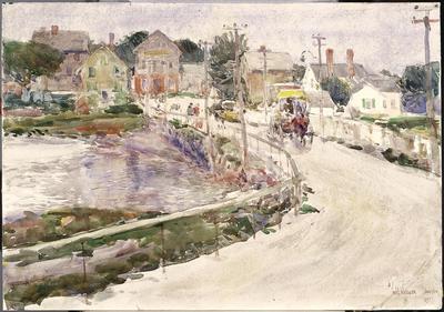 Artist: Childe Hassam, American, 1859-1935