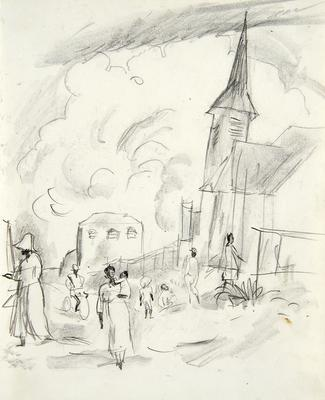The Church from Caribbean Sketchbook