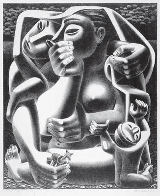 Artist: Emilio Amero, Mexican, 1900-1976