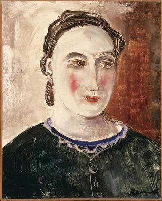 Portrait of the Artist's Daughter; Maurice de Vlaminck; French, 1876-1958; 1992.27